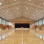 匝瑳市立八日市場第二中学校屋内運動場5