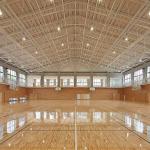 匝瑳市立八日市場第二中学校屋内運動場6