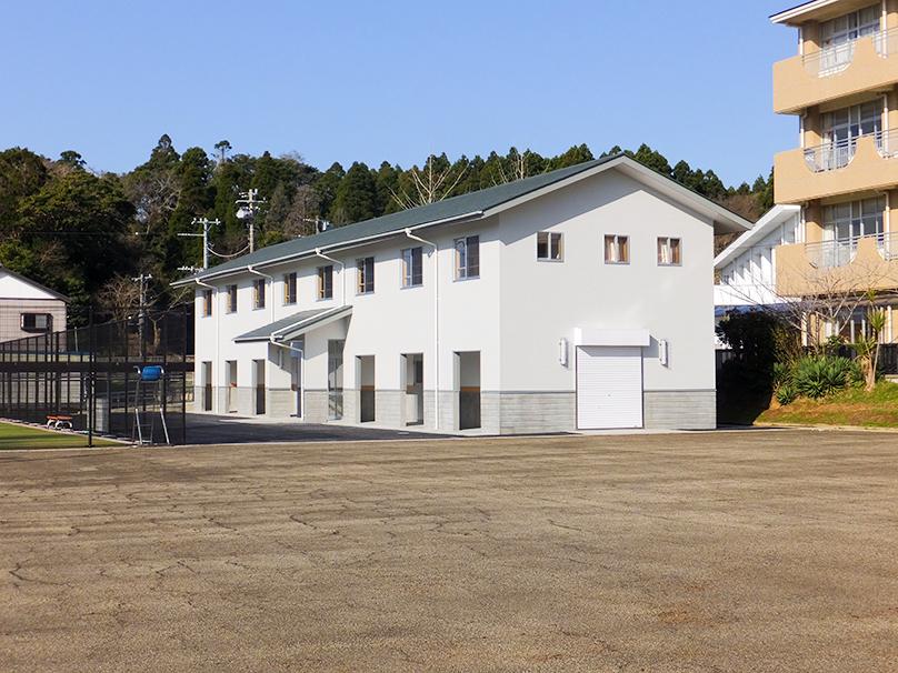 匝瑳市立八日市場第二中学校部室
